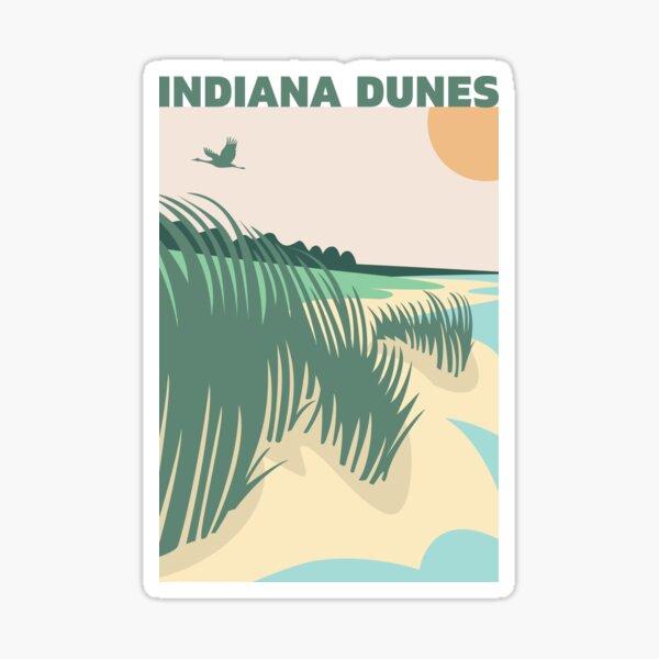 Breeze on the Shoreline Sticker