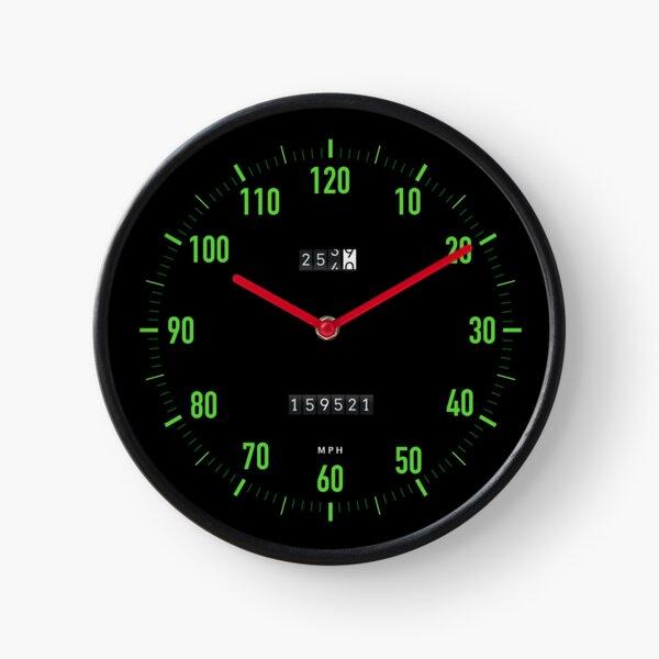Retro car speedometer mph wall clock Clock
