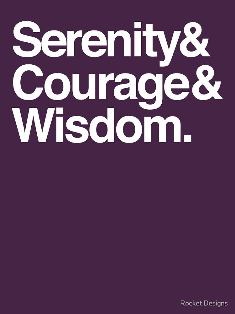 Gelassenheit Mut Weisheit von sober-tees