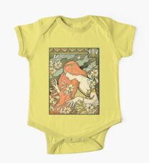 The Red-Haired Lady (Ermitage) art nouveau masterpiece One Piece - Short Sleeve