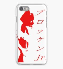 Brocken Jr Stencil iPhone Case/Skin