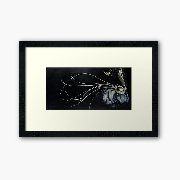 Rebob Ancestor Bobcat Framed Art Print