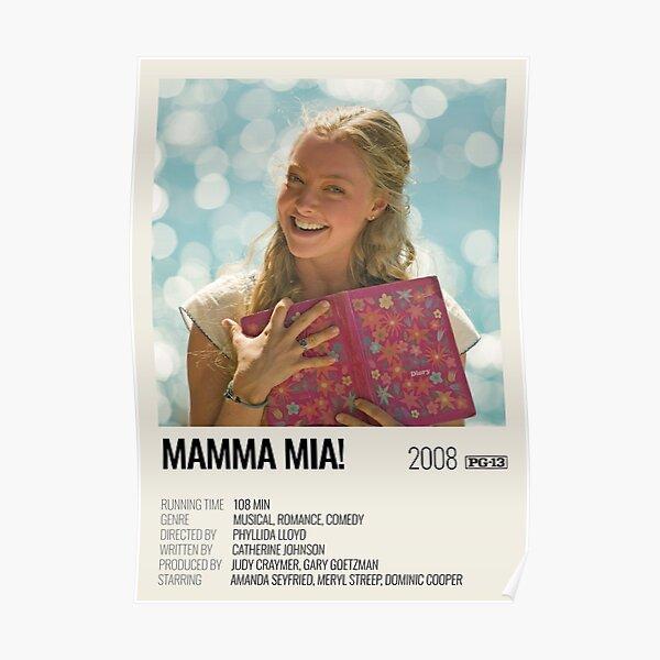 Mamma Mia! (2008) movie poster Poster