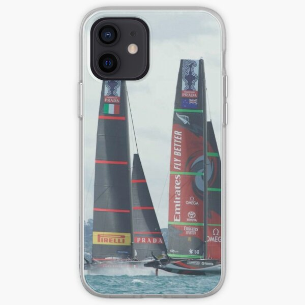 America's Cup - Luna Rossa and Emirates Team New Zealand iPhone Soft Case