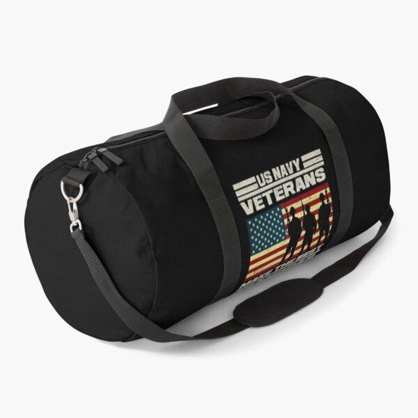 Us Navy Veterans Make The Best Grandpas Vintage military gift 1 Duffle Bag