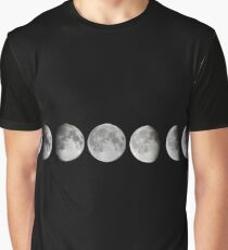 Moon phases Graphic T-Shirt