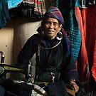 Seamstress, Sapa, Vietnam by Bob Ramsak