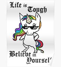 Tough Unicorn Poster