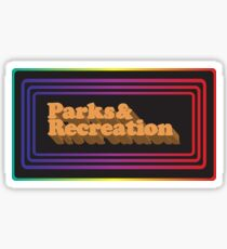 Parks and Rec Retro Sticker