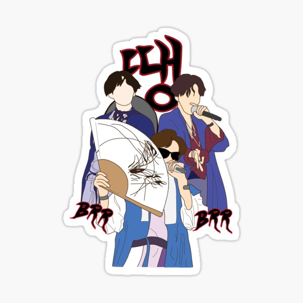 DDAENG Sticker
