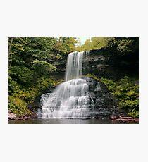 Cascades Waterfall- VA Photographic Print