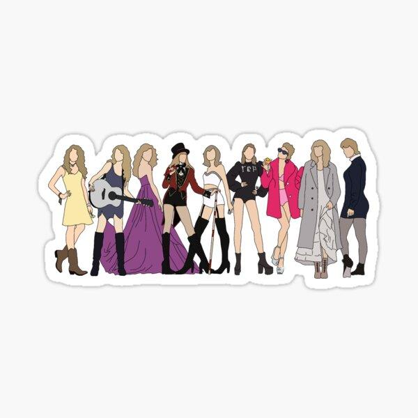 Las eras de Taylor Swift incluyen siempre Pegatina