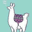 Aztec Alpaca - meh meh meh by zoel
