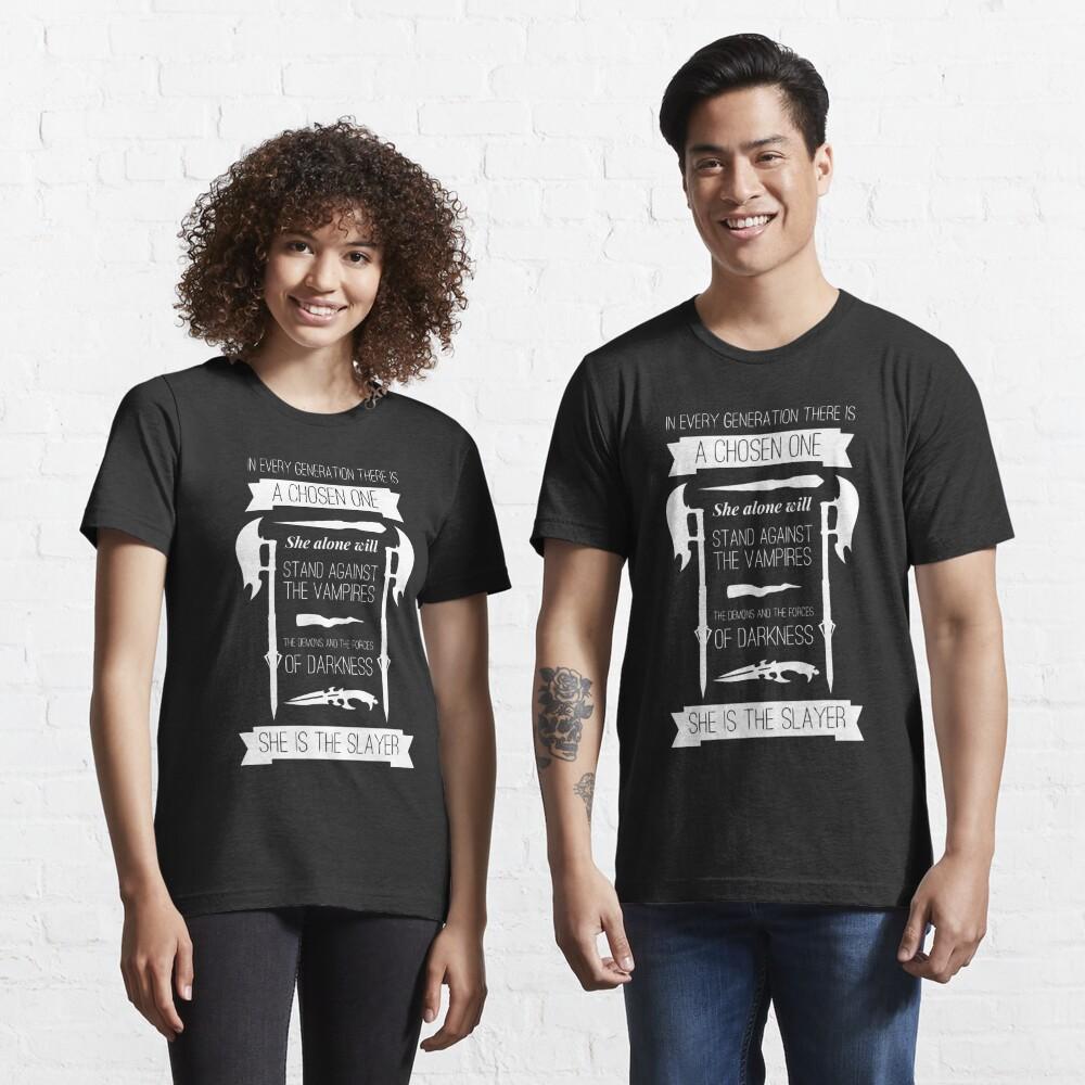 Buffy the Vampire Slayer - Chosen One Essential T-Shirt