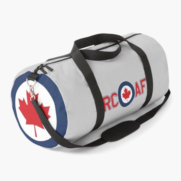 RCAF ROYAL CANADIAN AIR FORCE ROUNDEL RONDEL MAPLE LEAF Duffle Bag