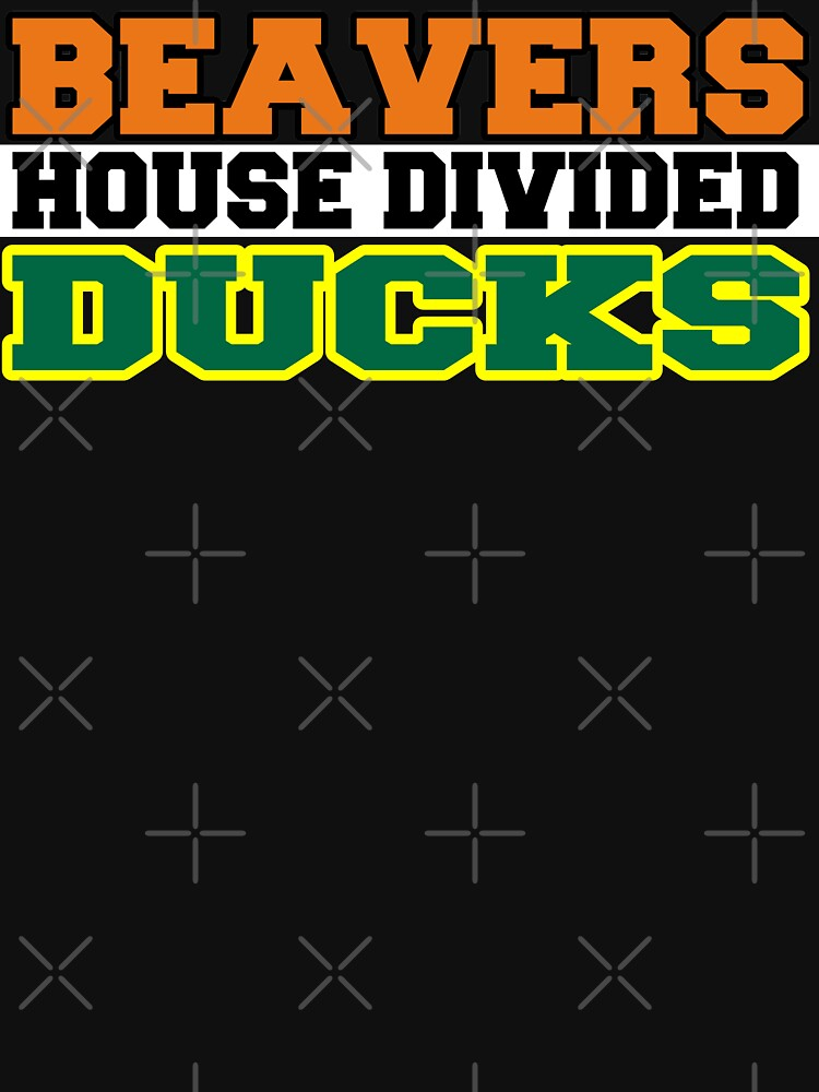 Beavers House Divided Ducks by Mbranco