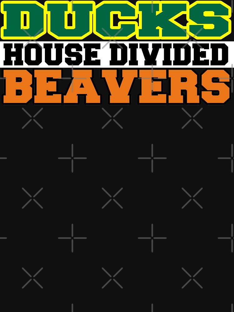 Ducks House Divided Beavers  by Mbranco