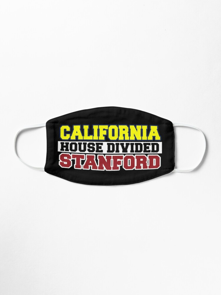 Alternate view of California House Divided Stanford  Mask