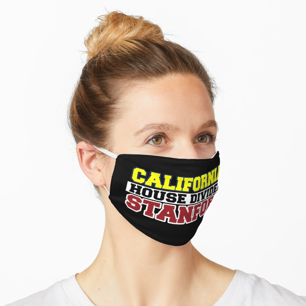 California House Divided Stanford  Mask