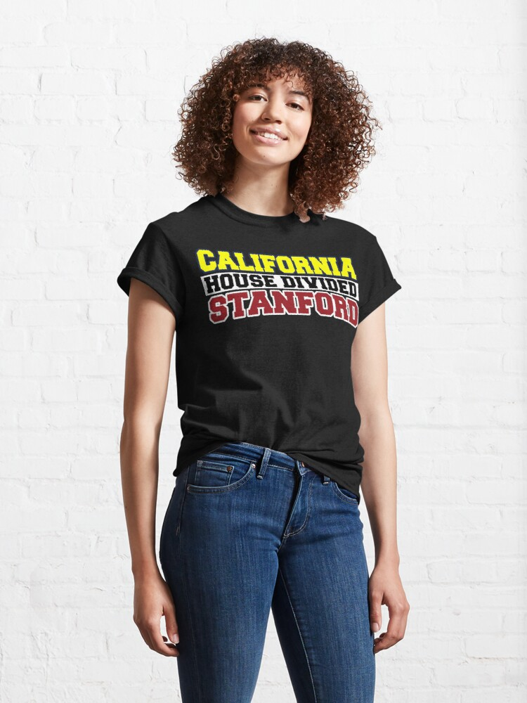 Alternate view of California House Divided Stanford  Classic T-Shirt