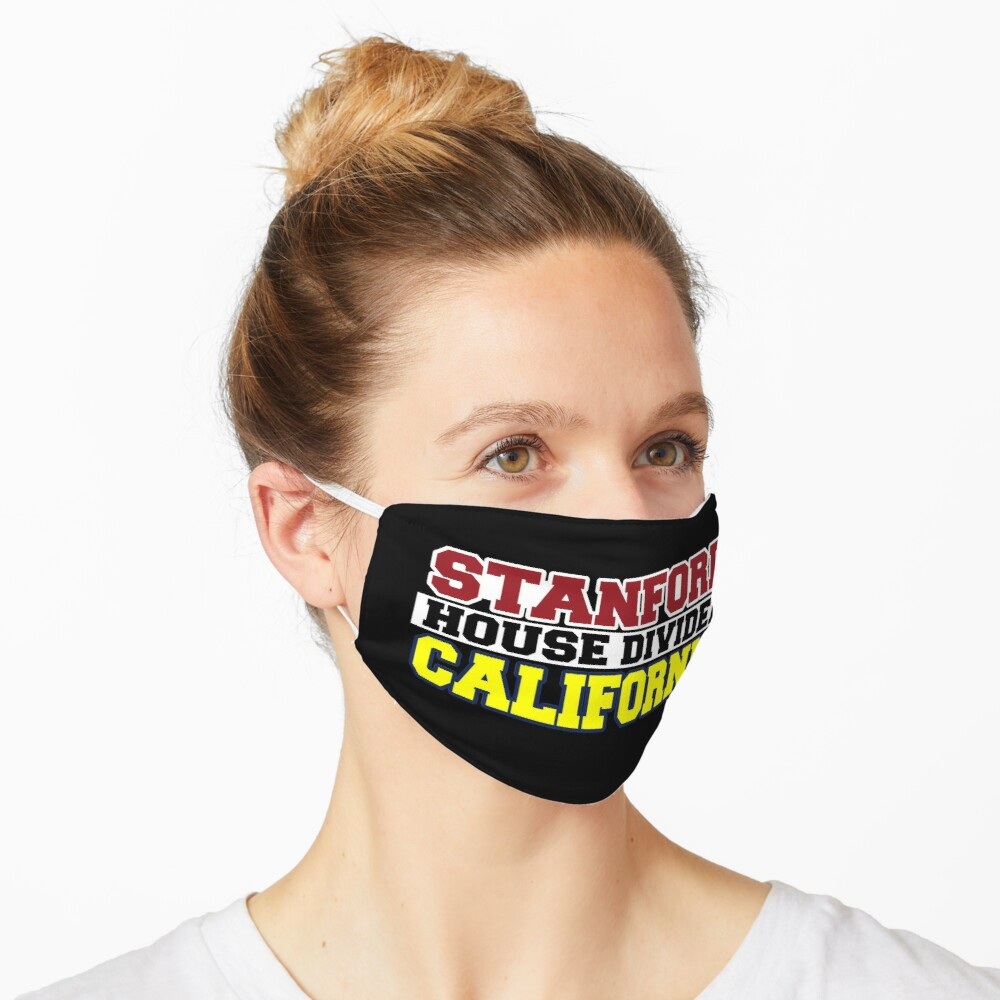 Stanford House Divided California Mask
