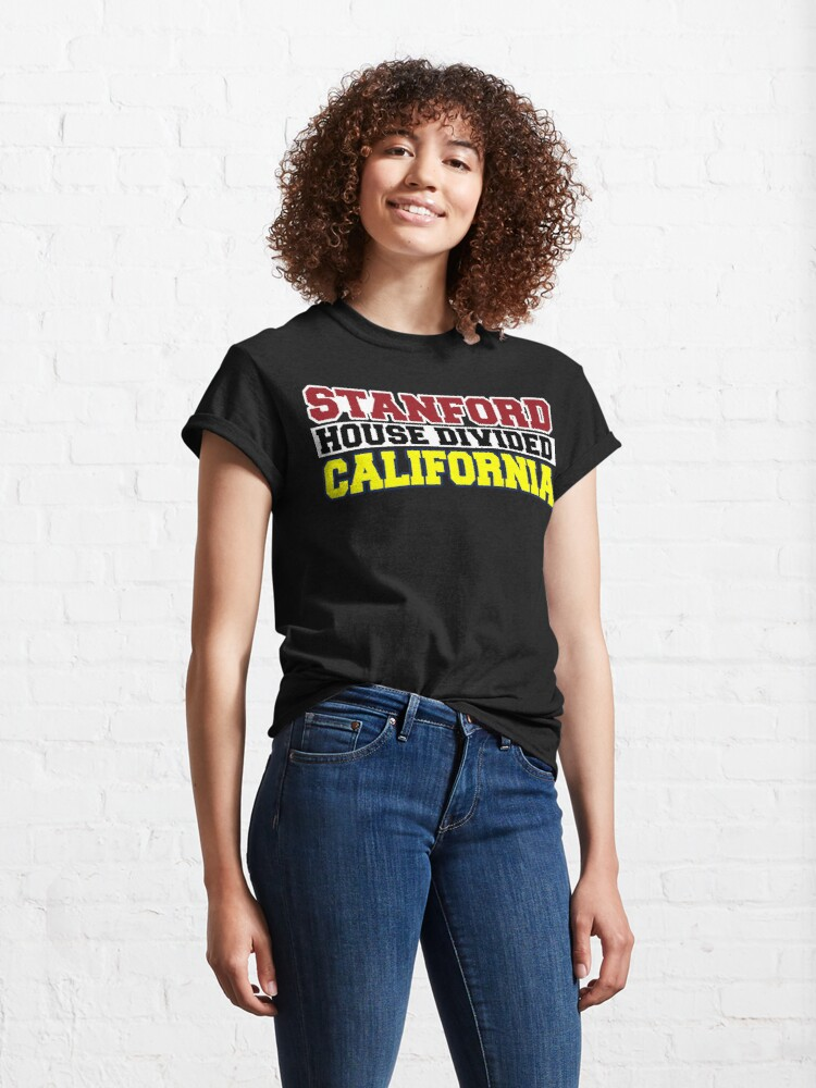 Alternate view of Stanford House Divided California Classic T-Shirt