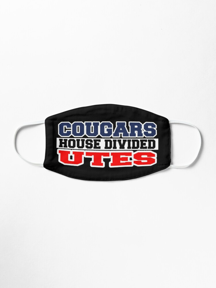 Alternate view of Cougars House Divided Utes Mask