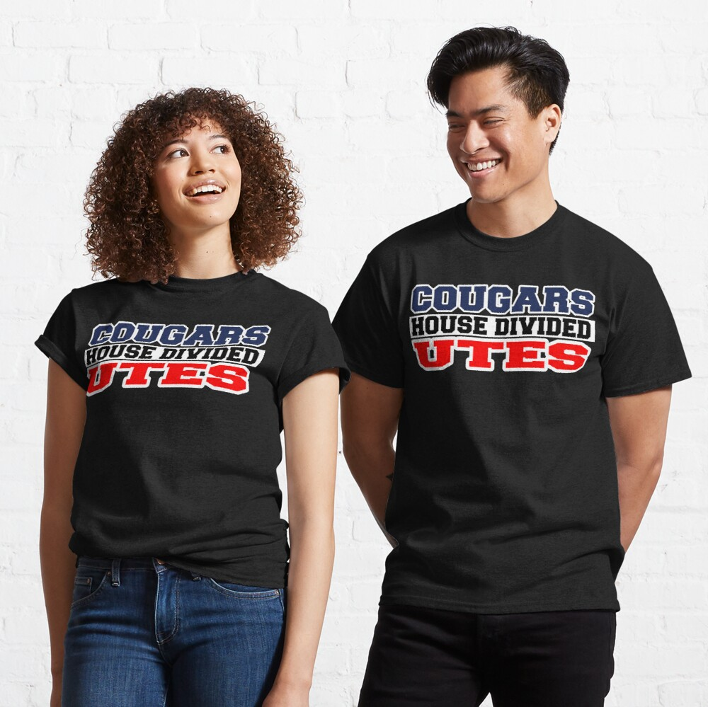 Cougars House Divided Utes Classic T-Shirt