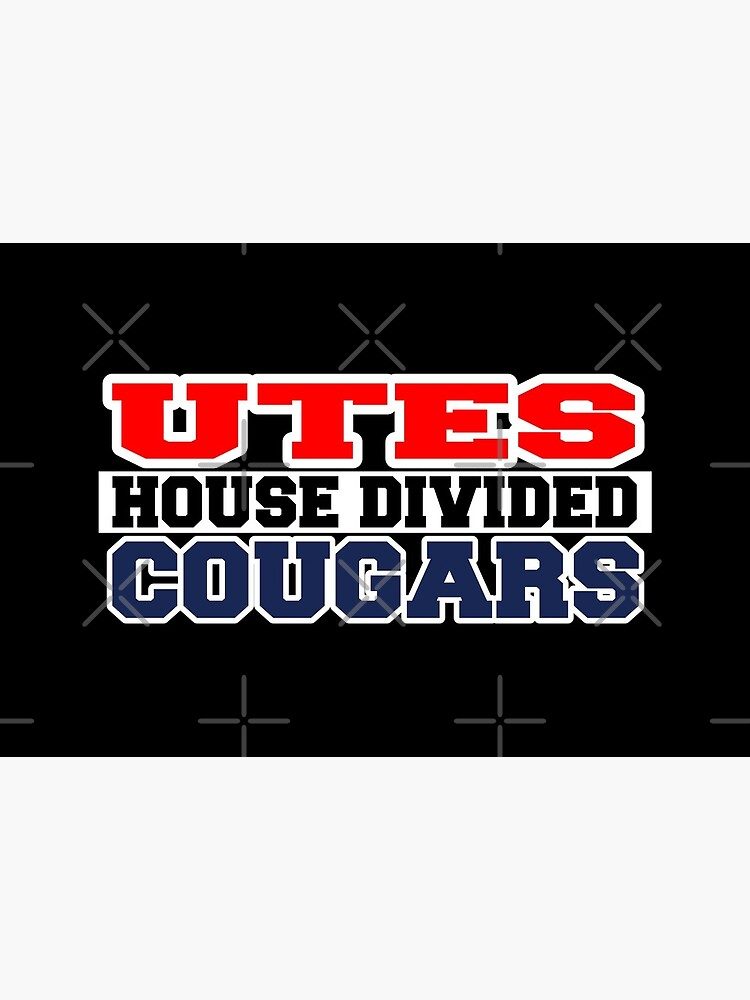 Utes House Divided Cougars by Mbranco