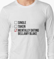 MENTALLY DATING BELLAMY BLAKE Long Sleeve T-Shirt