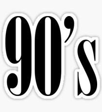 90s Sticker