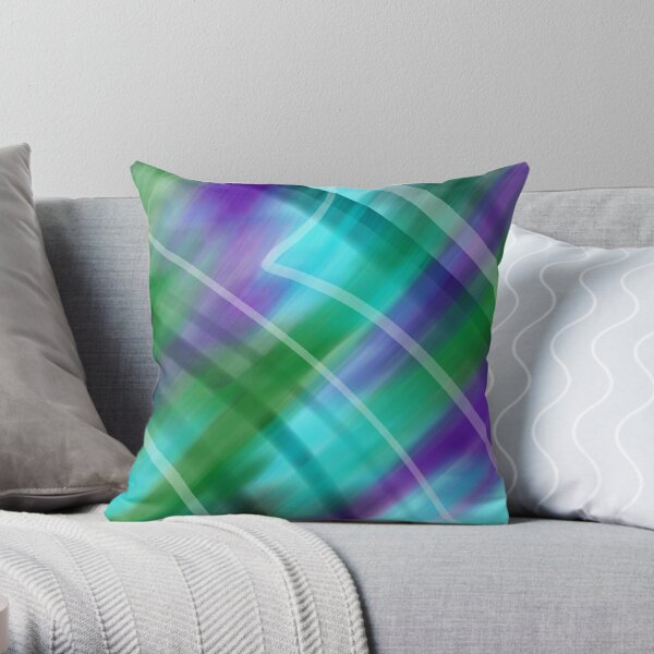 Pieces of You Abstract Throw Pillow
