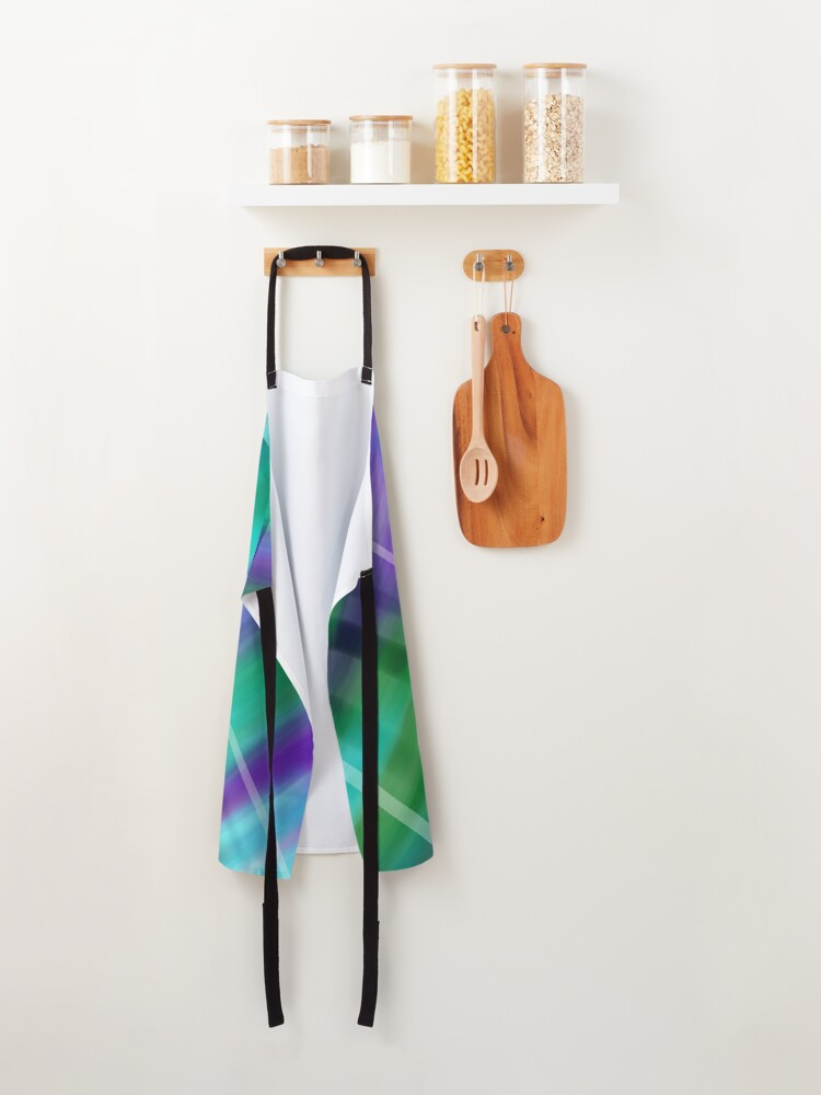 Alternate view of Pieces of You Abstract Apron