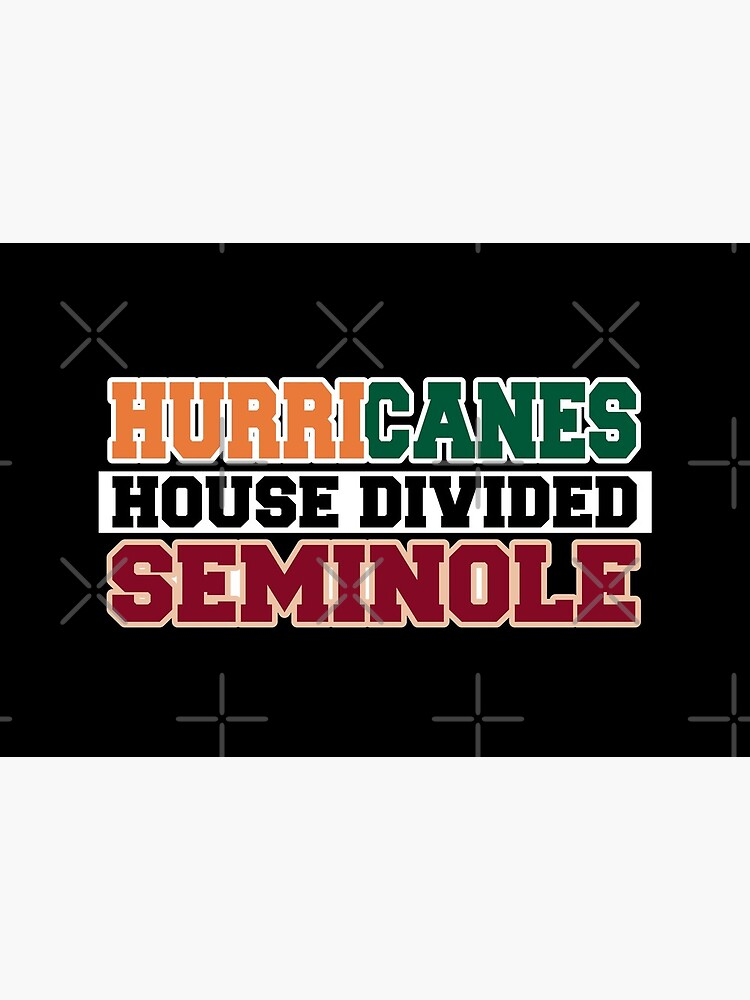 Hurricanes House Divided Seminole by Mbranco