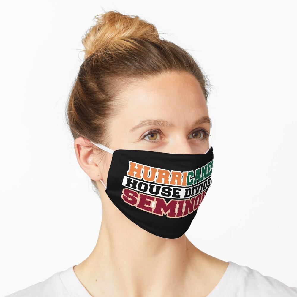 Hurricanes House Divided Seminole Mask