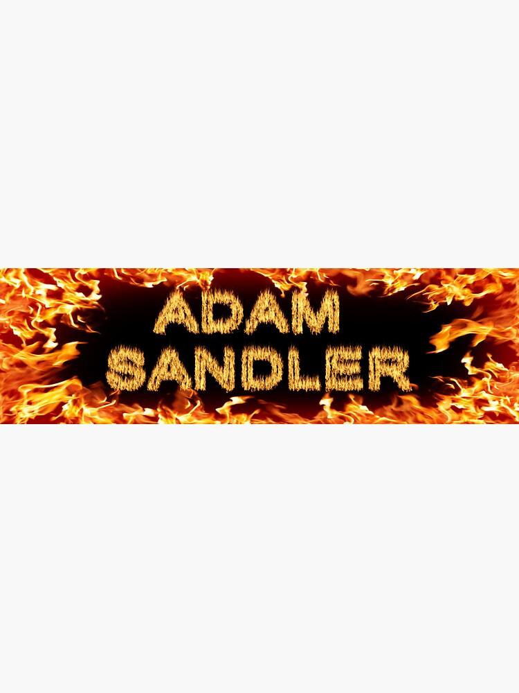 Adam Sandler Bumper Sticker by gsill