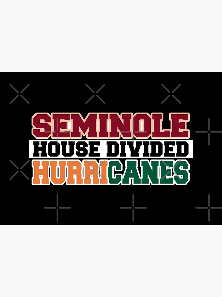 Seminole House Divided Hurricanes  by Mbranco