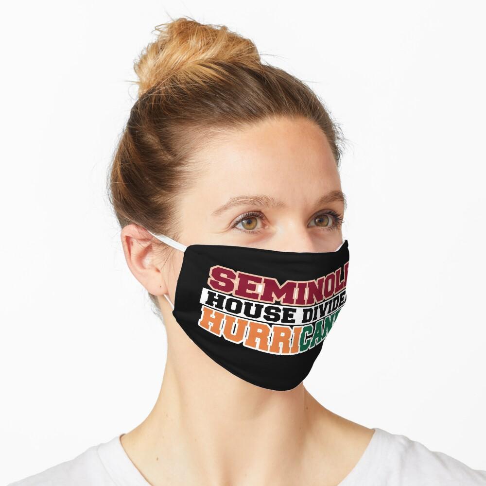 Seminole House Divided Hurricanes  Mask