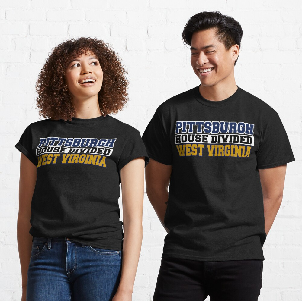 Pittsburgh House Divided West Virginia Classic T-Shirt