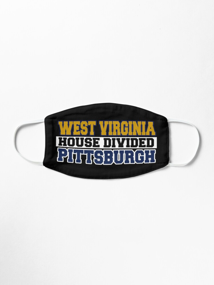 Alternate view of West Virginia House Divided Pittsburgh Mask