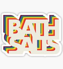 Bath Salts Sticker