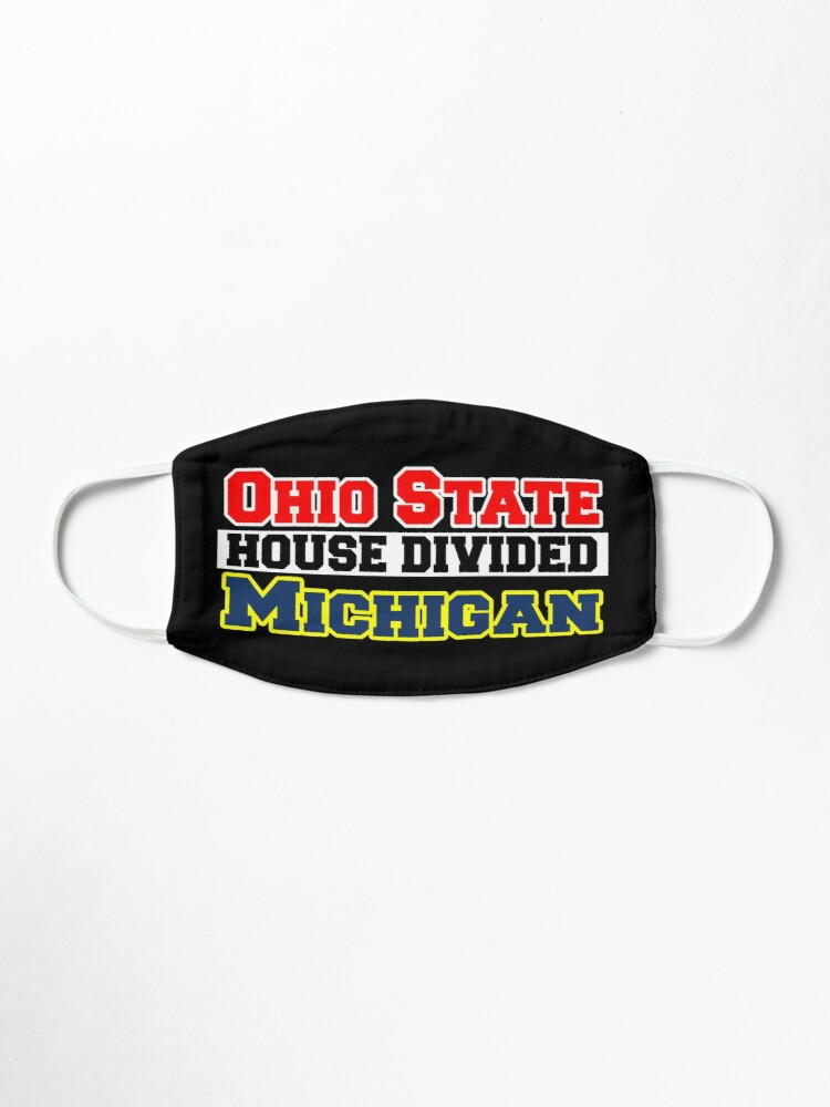 Alternate view of Ohio State House Divided Michigan Mask