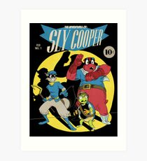The Adventures of Sly Cooper Art Print