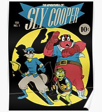 The Adventures of Sly Cooper Poster