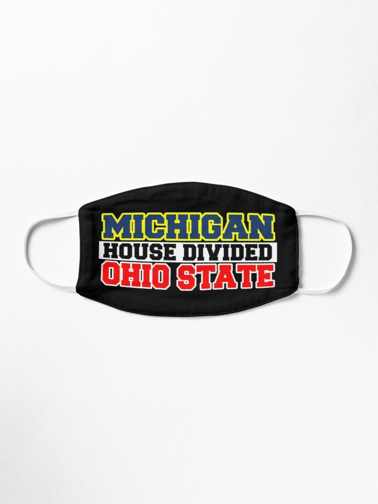 Alternate view of Michigan House Divided Ohio State Mask