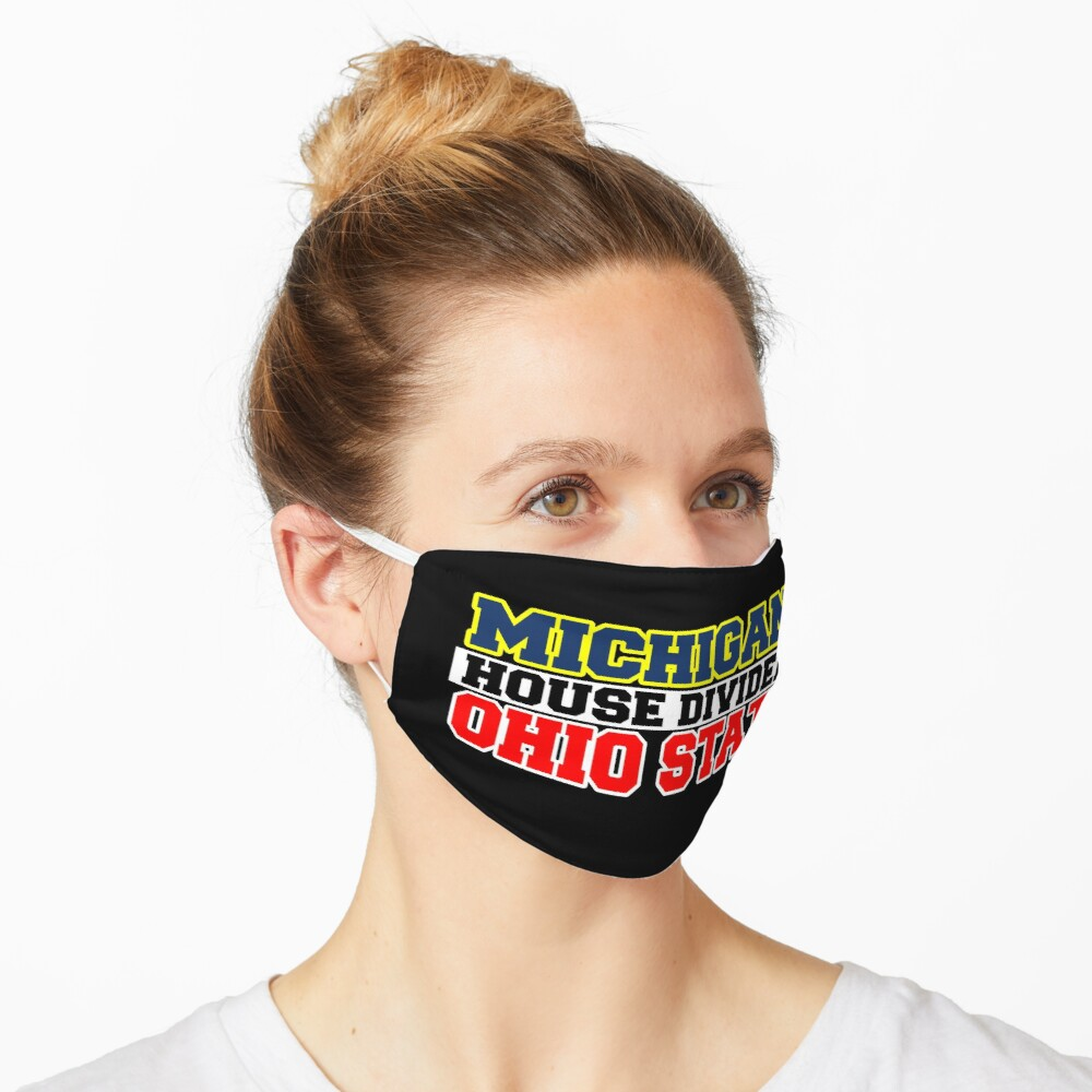 Michigan House Divided Ohio State Mask
