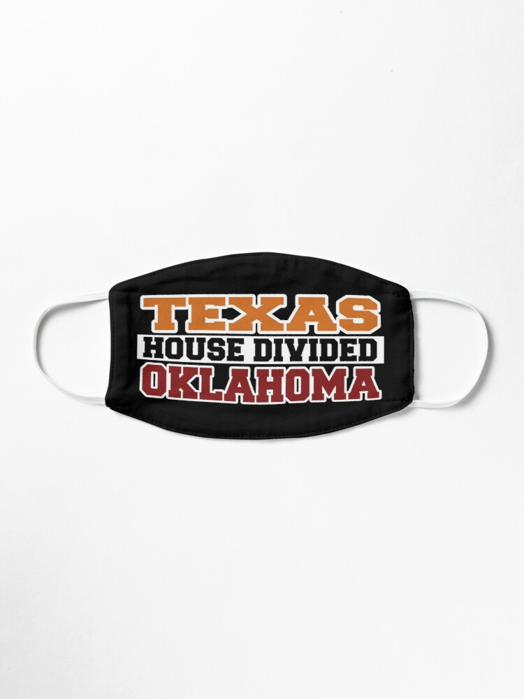 Alternate view of Texas House Divided Oklahoma Mask