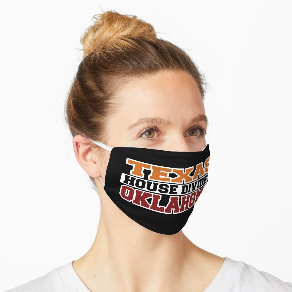 Texas House Divided Oklahoma Mask