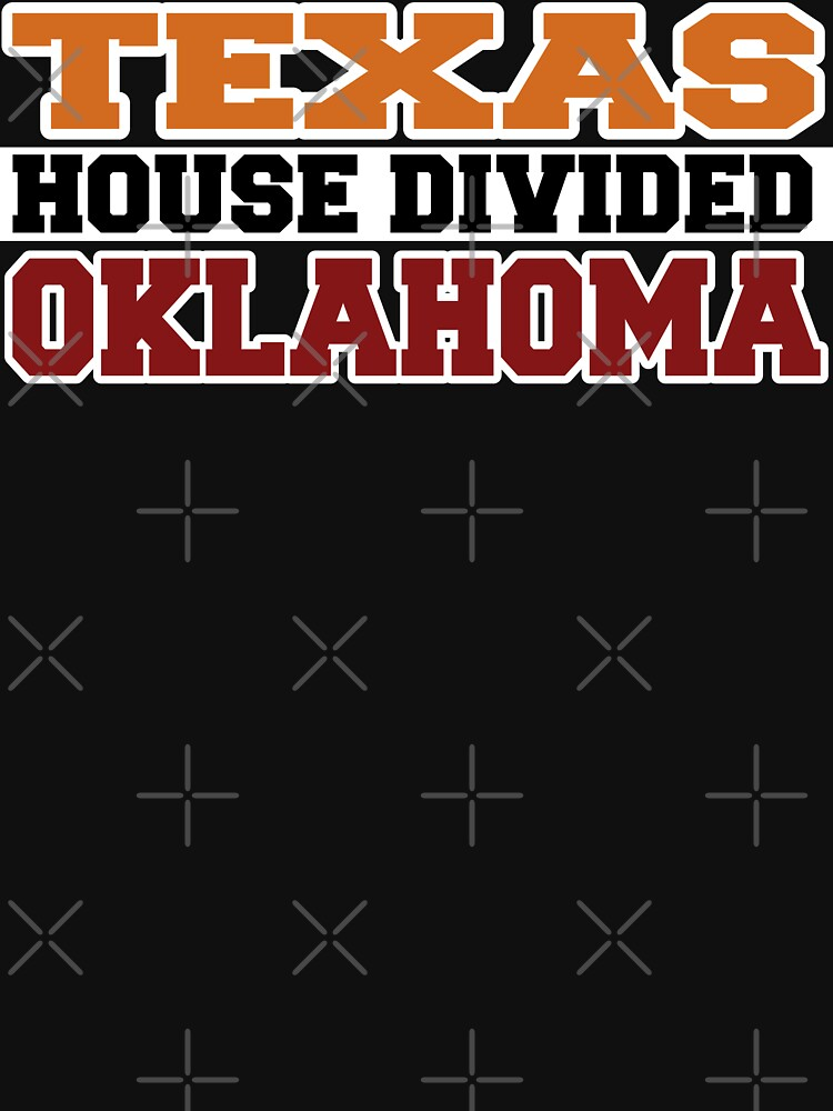 Texas House Divided Oklahoma by Mbranco