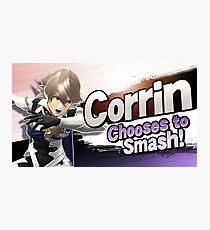 Corrin Chooses to Smash! Photographic Print